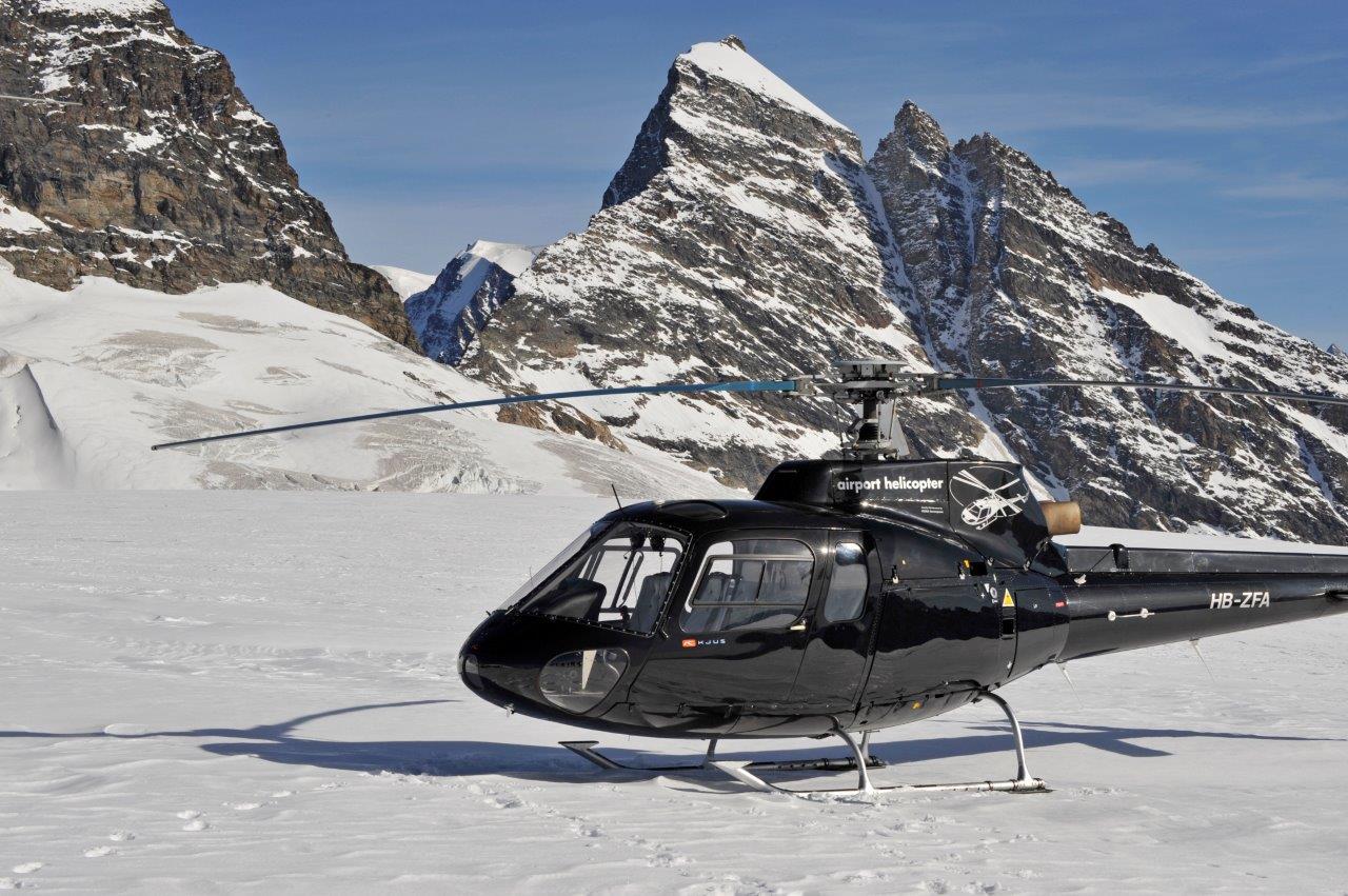 Helikopterflug Buochs
