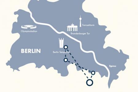 Berlin Skyline Hubschrauberflug