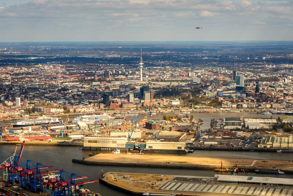 Stadtrundflug Hamburg