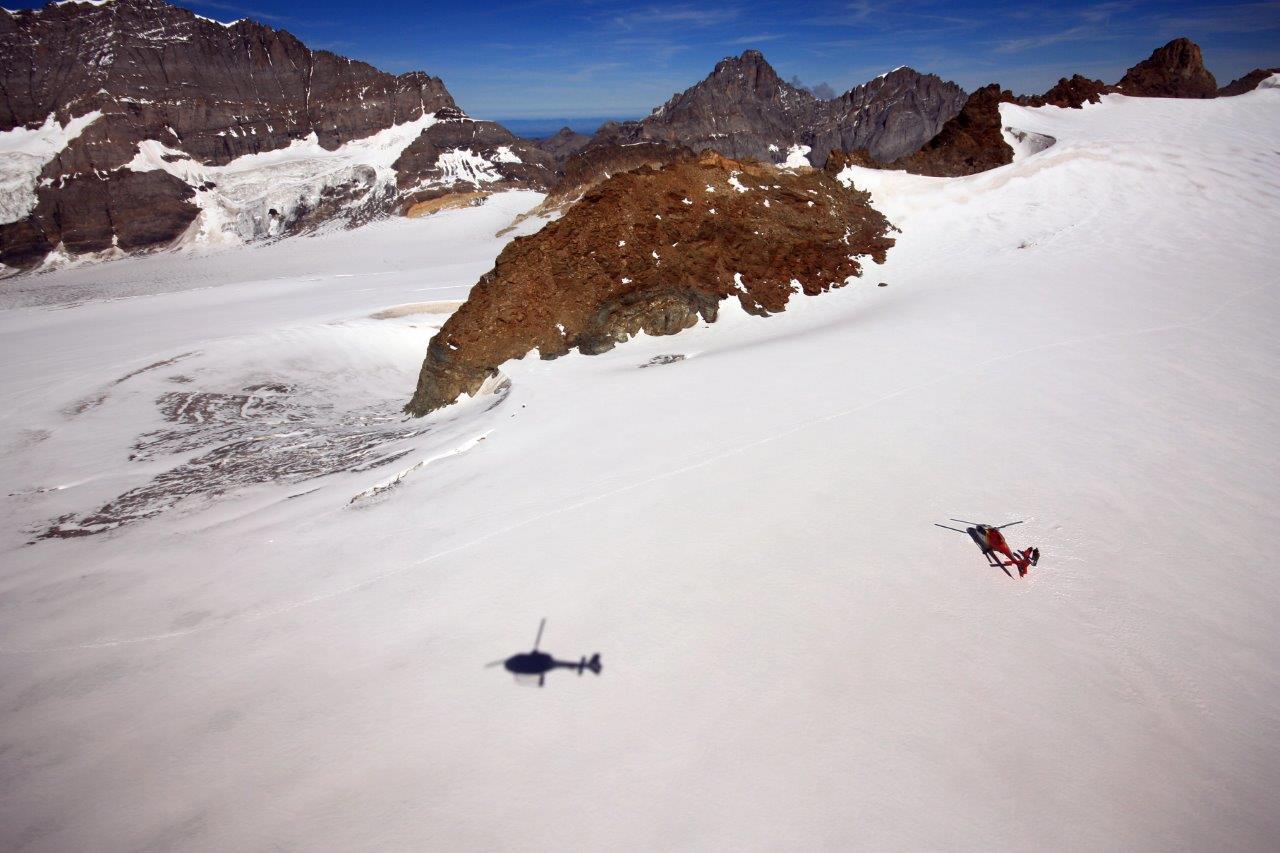 Helikopterrundflug Gletscherlandung