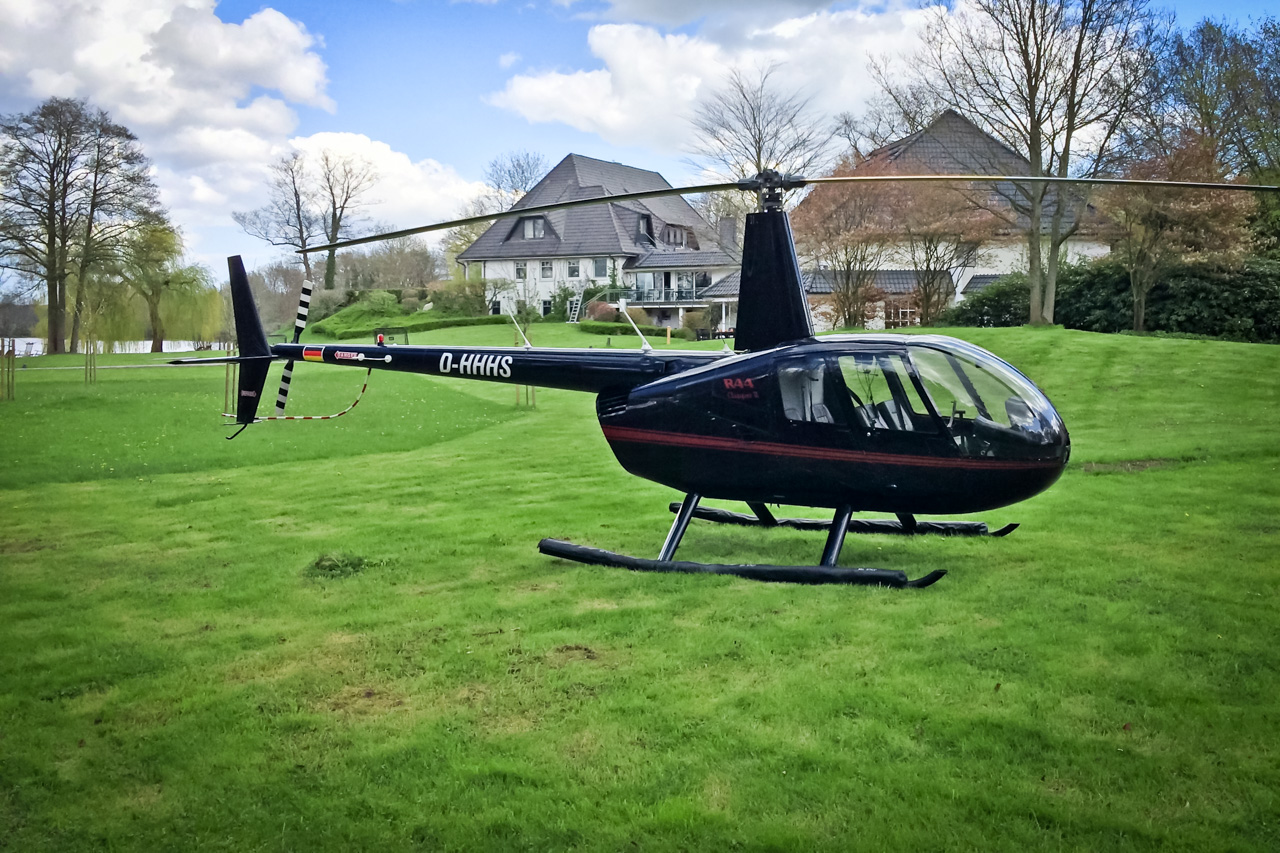 Hubschrauberrundflug Töpferhaus