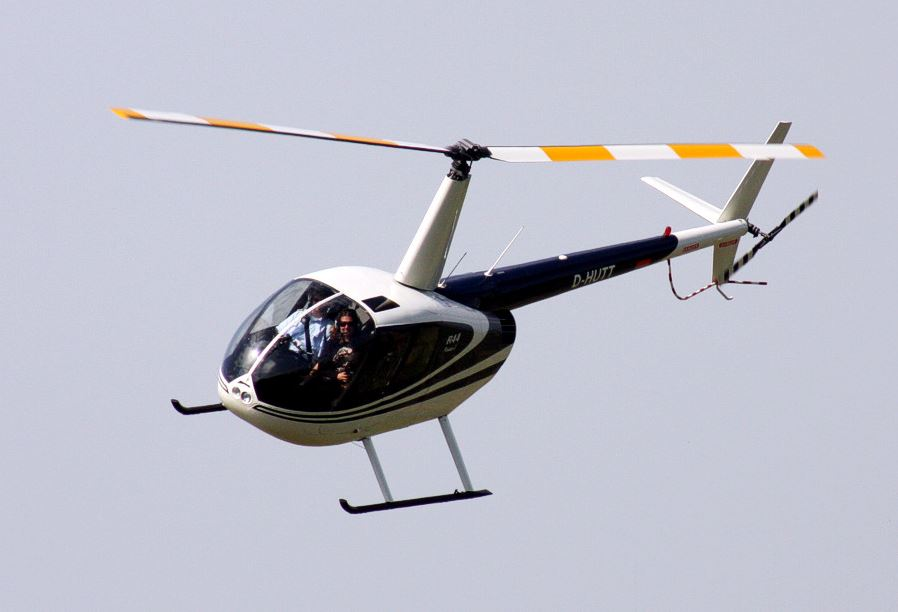 Rostock Hubschrauber