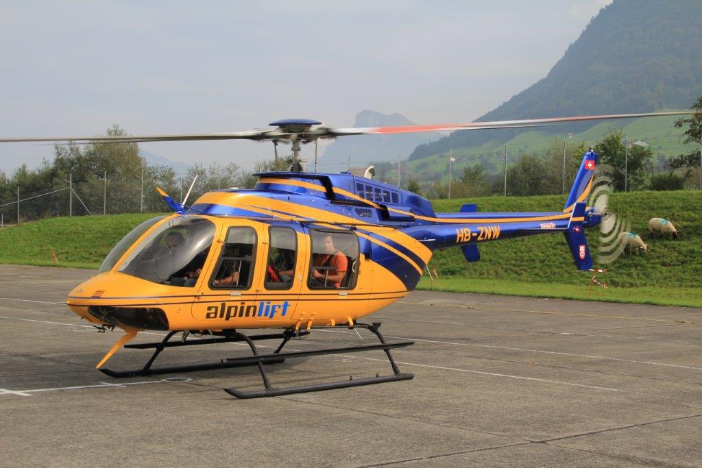 Pilatus Helikopter Rundflug