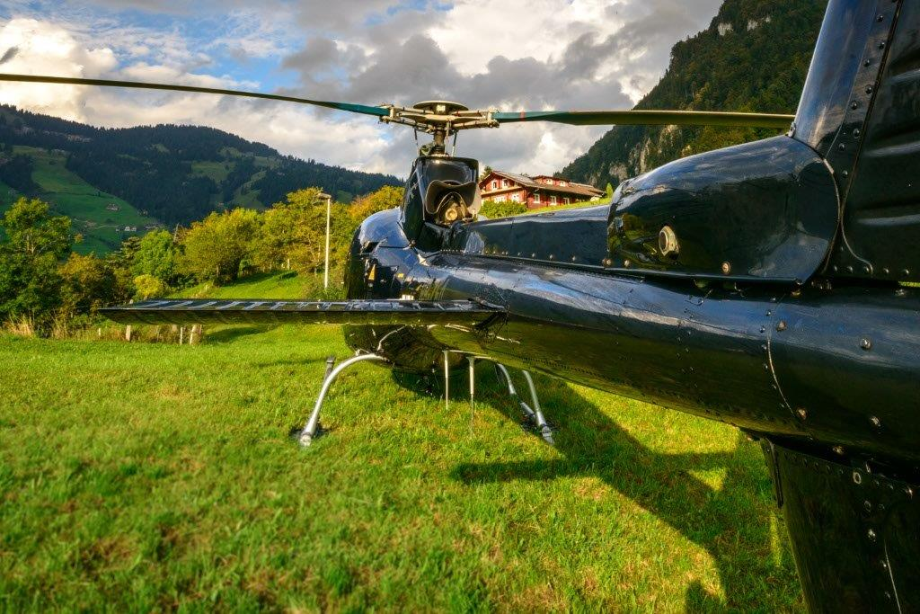 Titlis Helikopter Tour