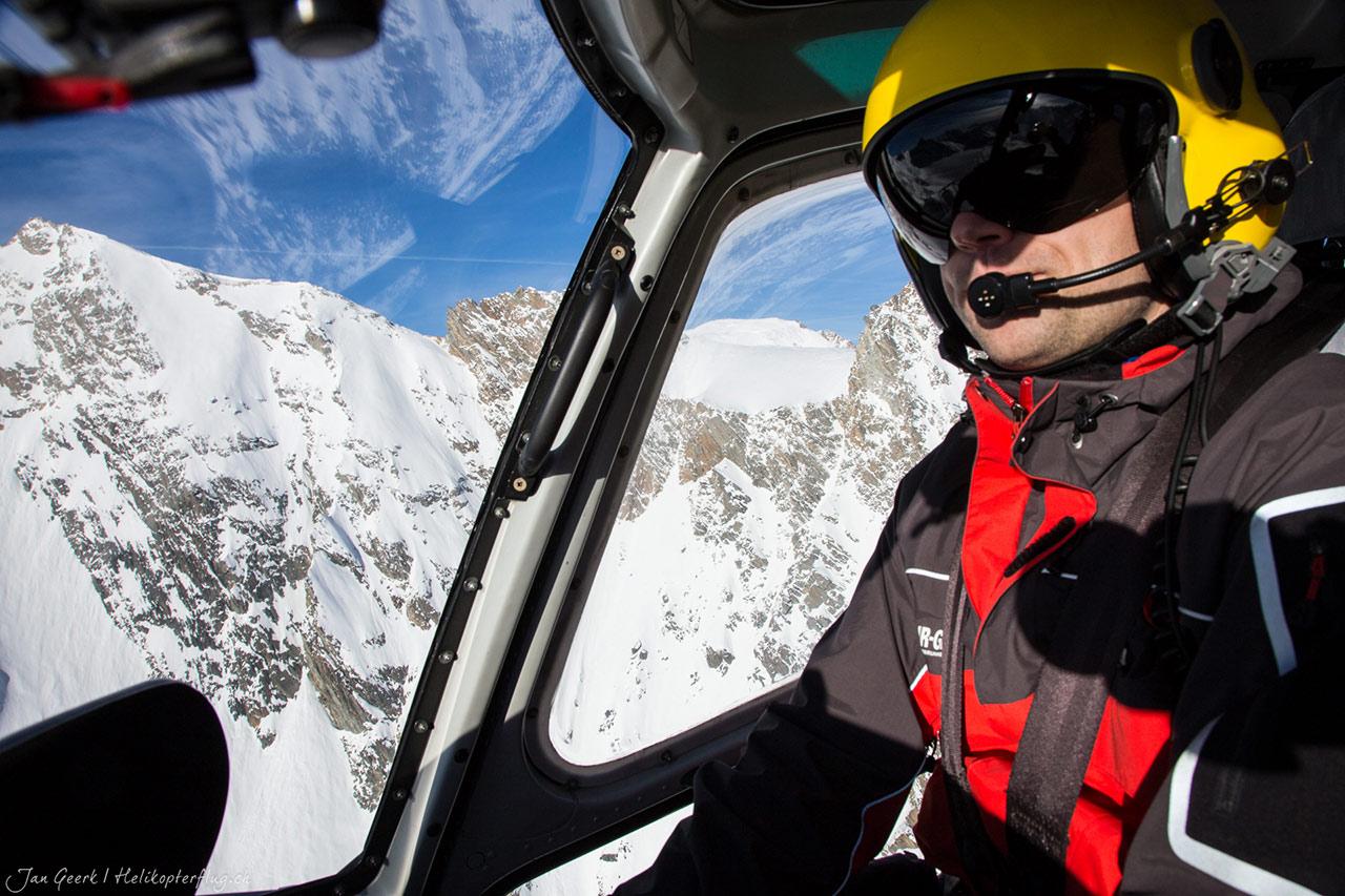 Alpenrundflug Cockpit