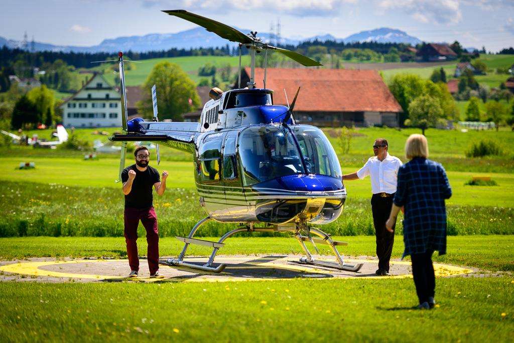 Hubschrauber selber fliegn