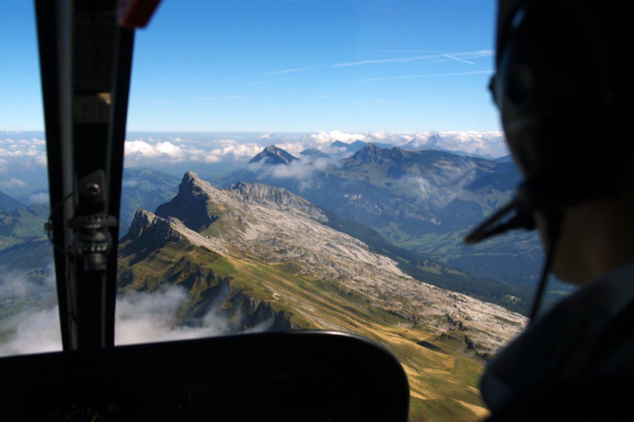 Hubschrauberrundflug Chiemgau