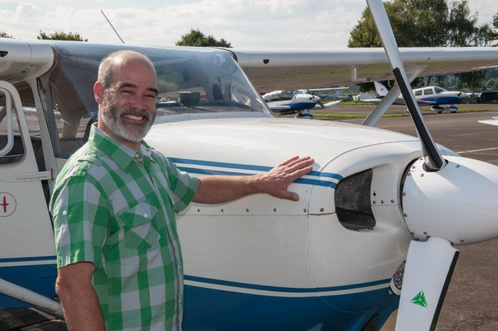 Flugzeug Alpenrundflug Beromünster