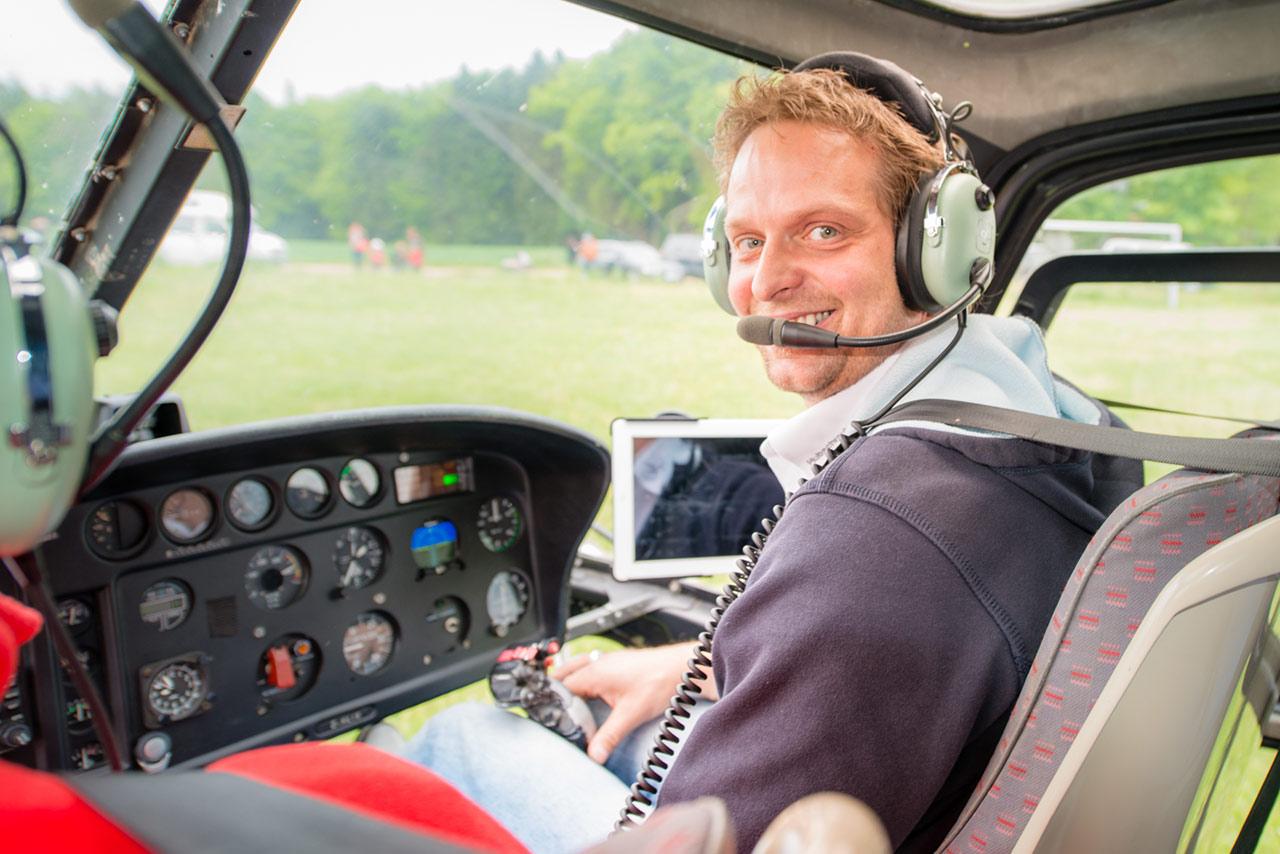 Hubschrauber selber pilot