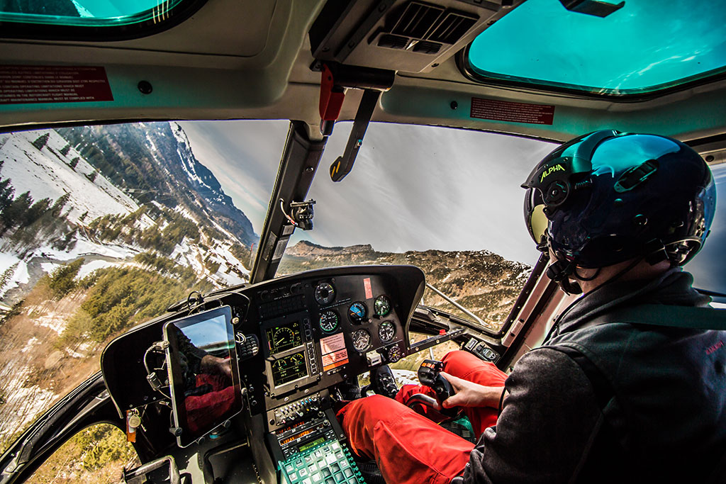 Hubschrauber Ludesch