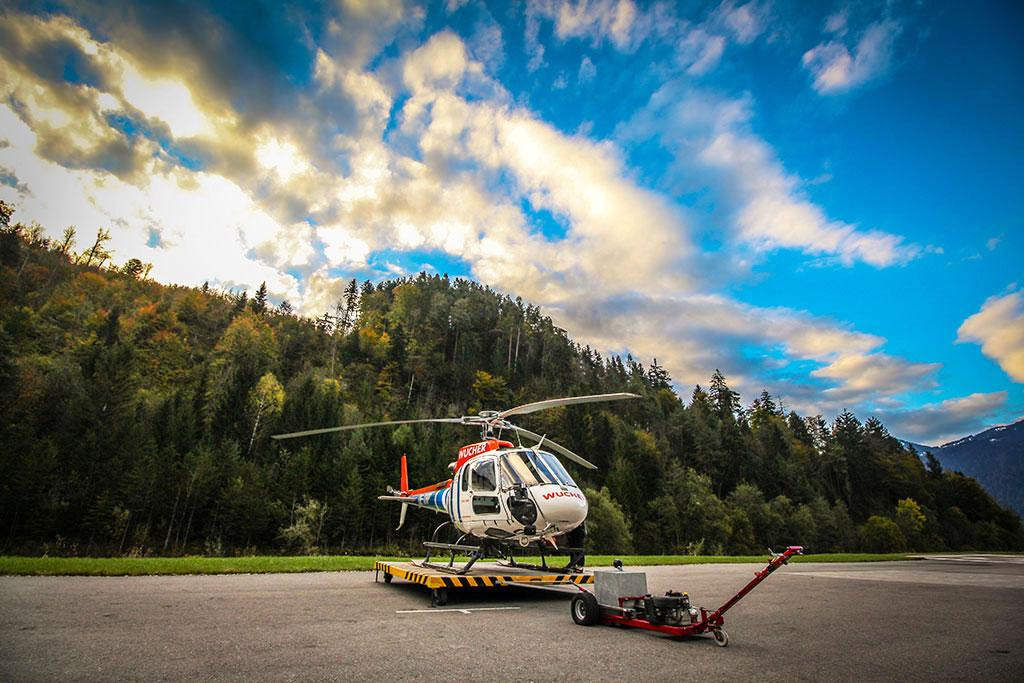 Hubschrauberrundflug Zell am See