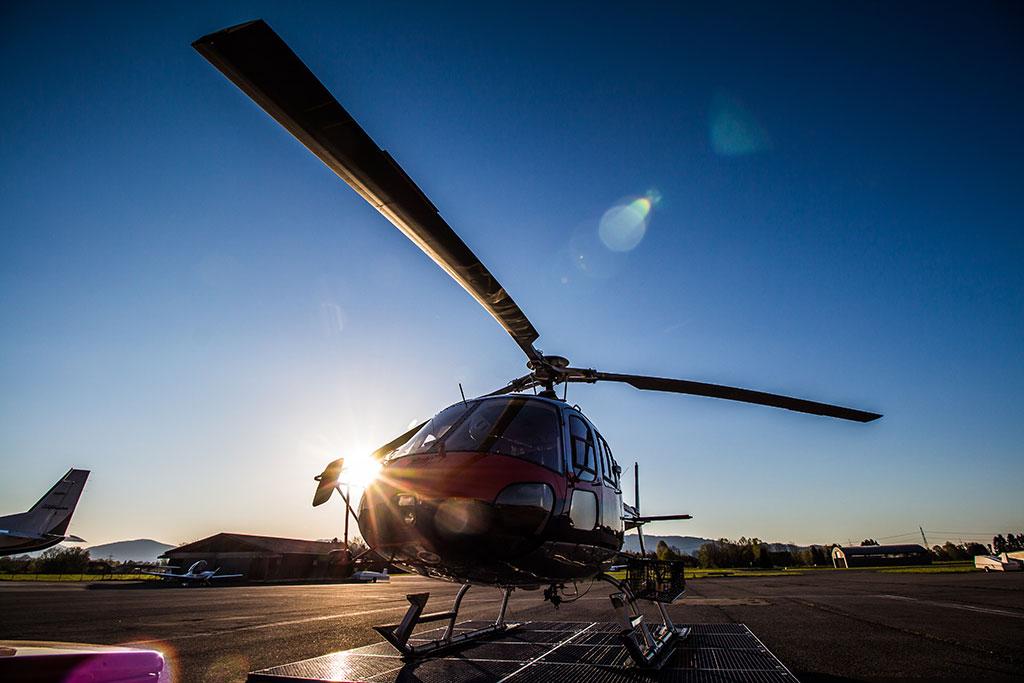 Hubschrauber Zell am See