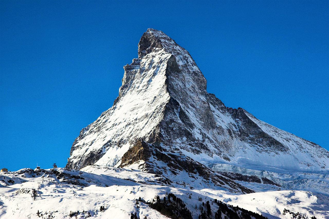 Matterhorn Rundflug ab Sion