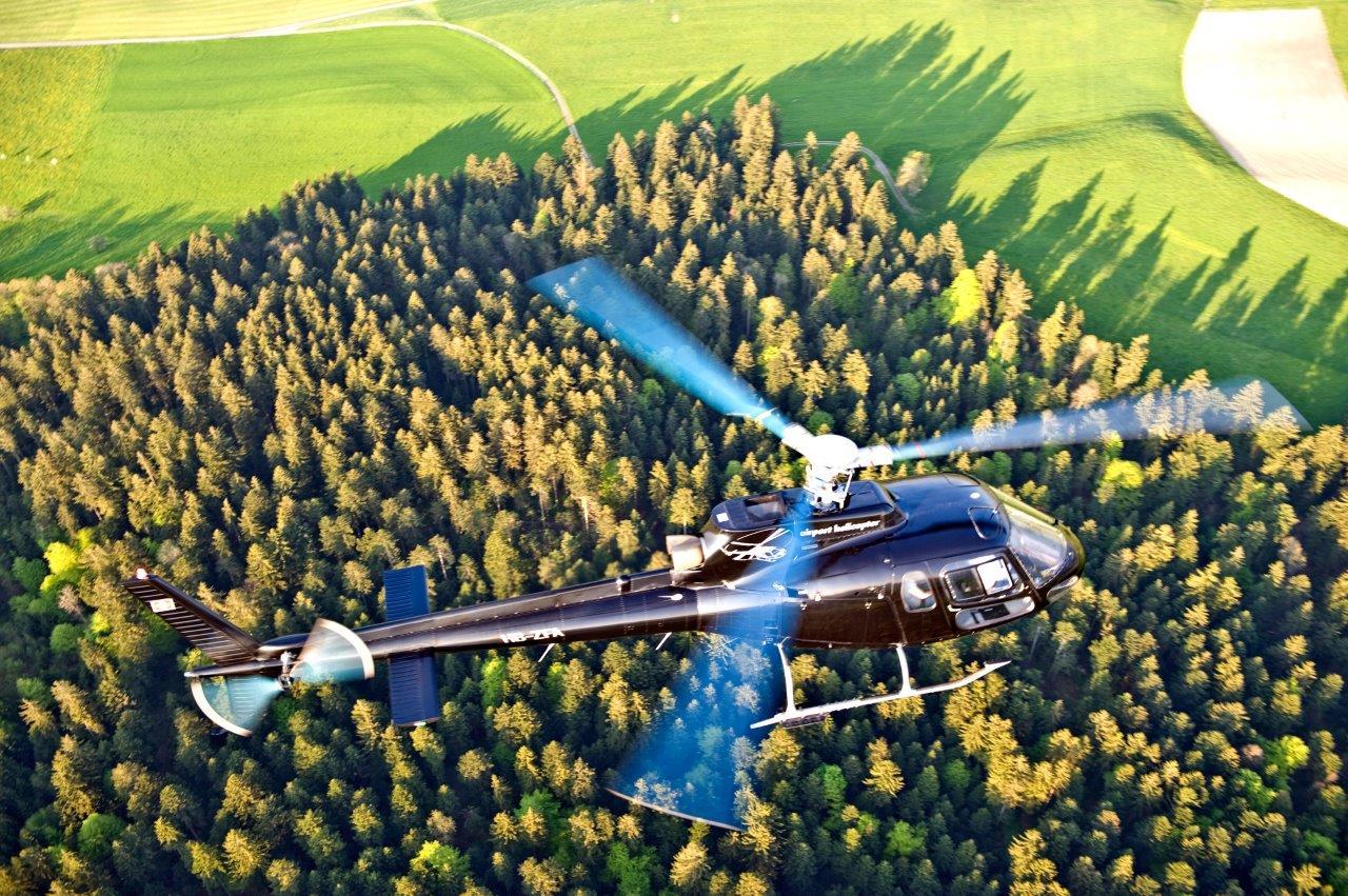 Helikopter Rundflug St.Gallen Altenrhein