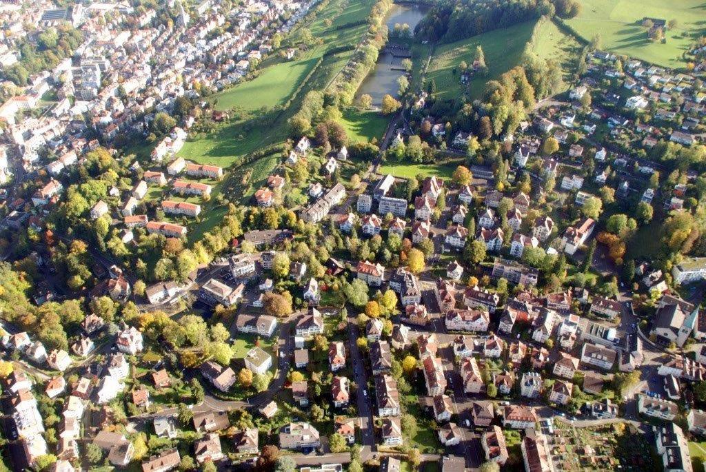 Stadt Rundflug ab Gallen Altenrhein