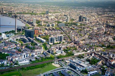 Hubschrauberrundflug Köln Düsseldorf