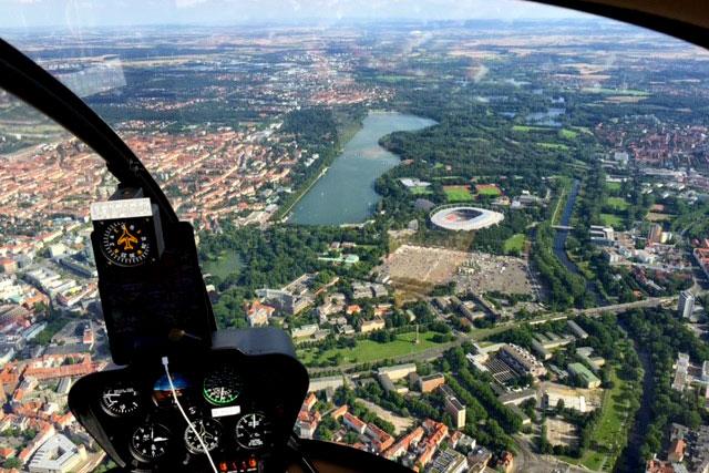 Hubschrauberrundflug Hannover