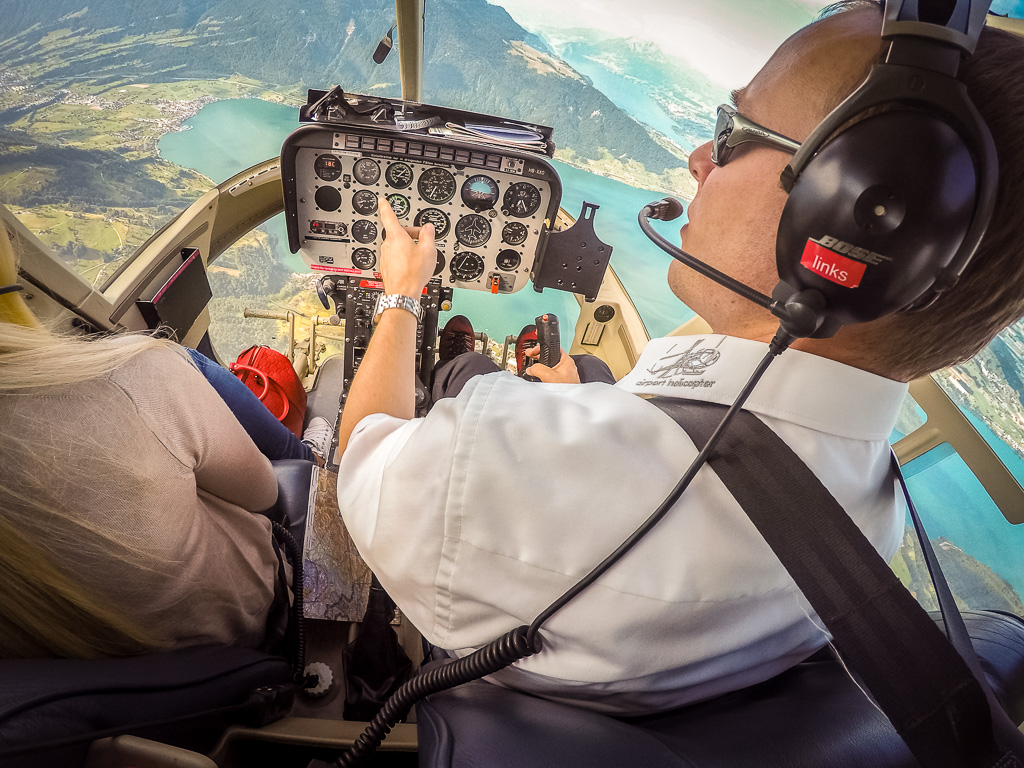 Hubschrauberrundflug Starnbergersee