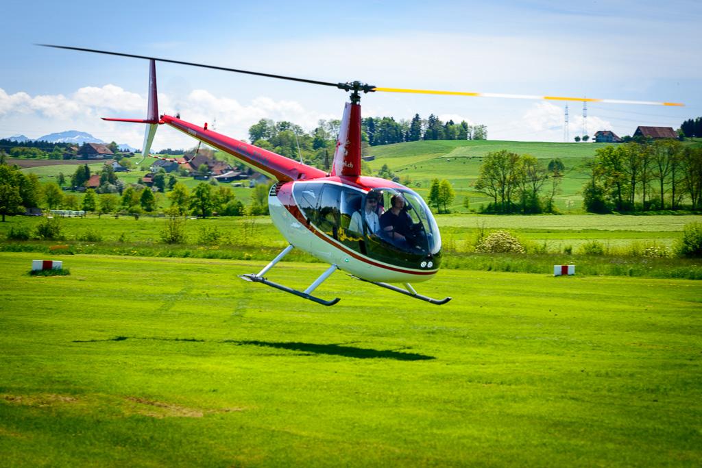 Hubschrauber selber fliegen München