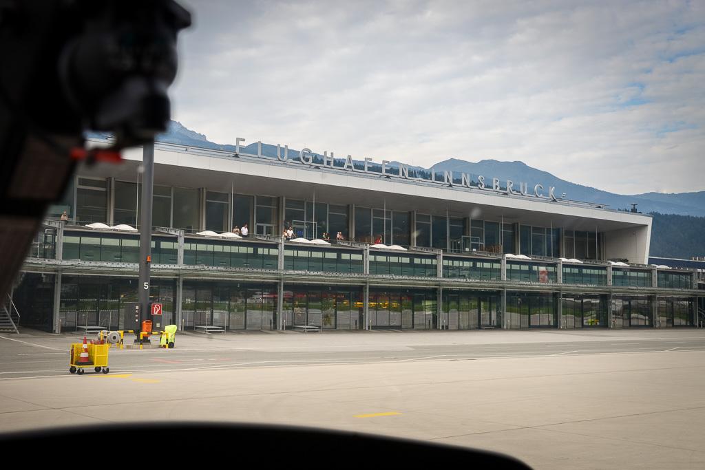 Start Flugplatz Innsbruck