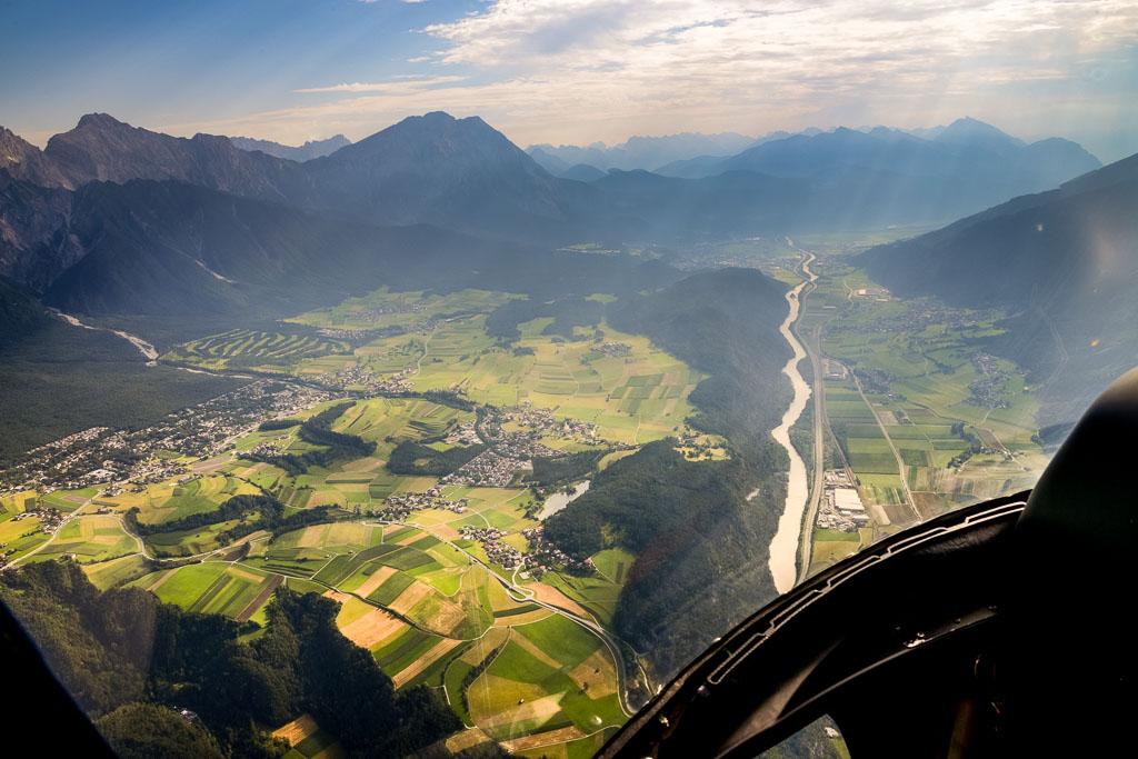 Alpenrundflug Innsbruck