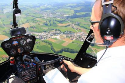 Hubschrauber selber fliegen Harz Wernigerode