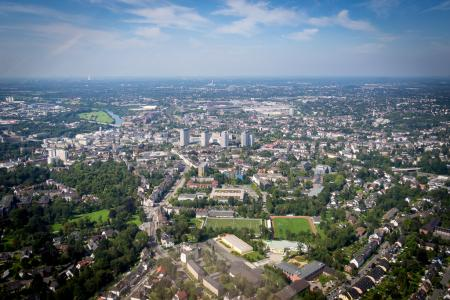 Hubschrauberrundflug Essen, Drotmund, Duisburg