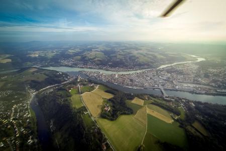Hubschrauberrundflug Passau