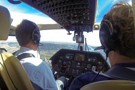 Hubschrauber München A109