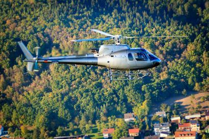 Hubschrauber Ecureuil ab Nürnberg