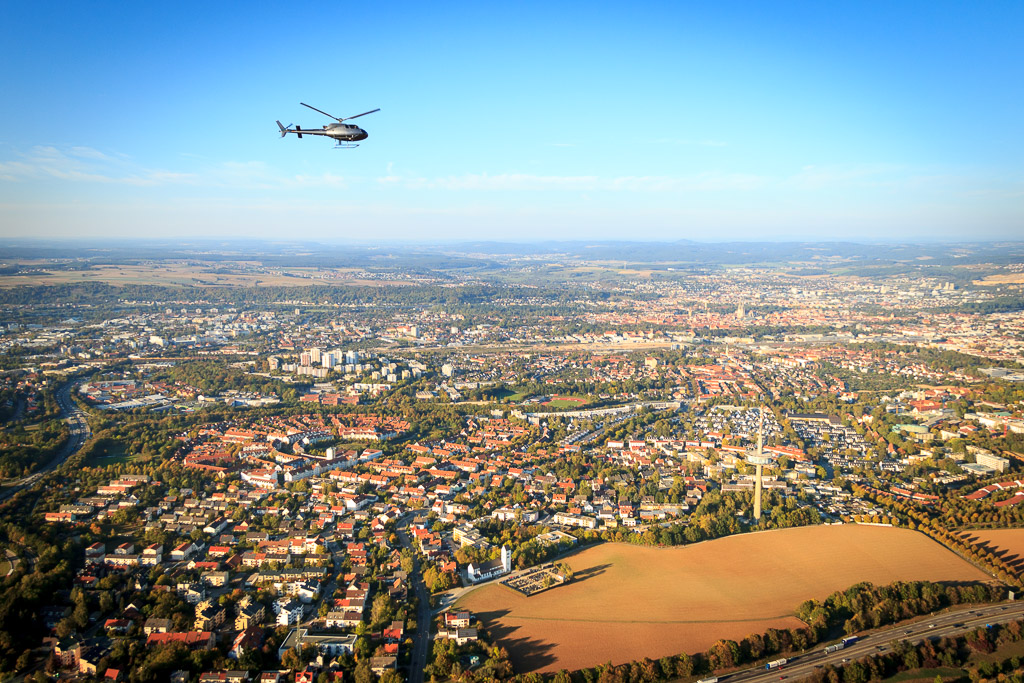 Hubschrauberflug ab Dippenricht