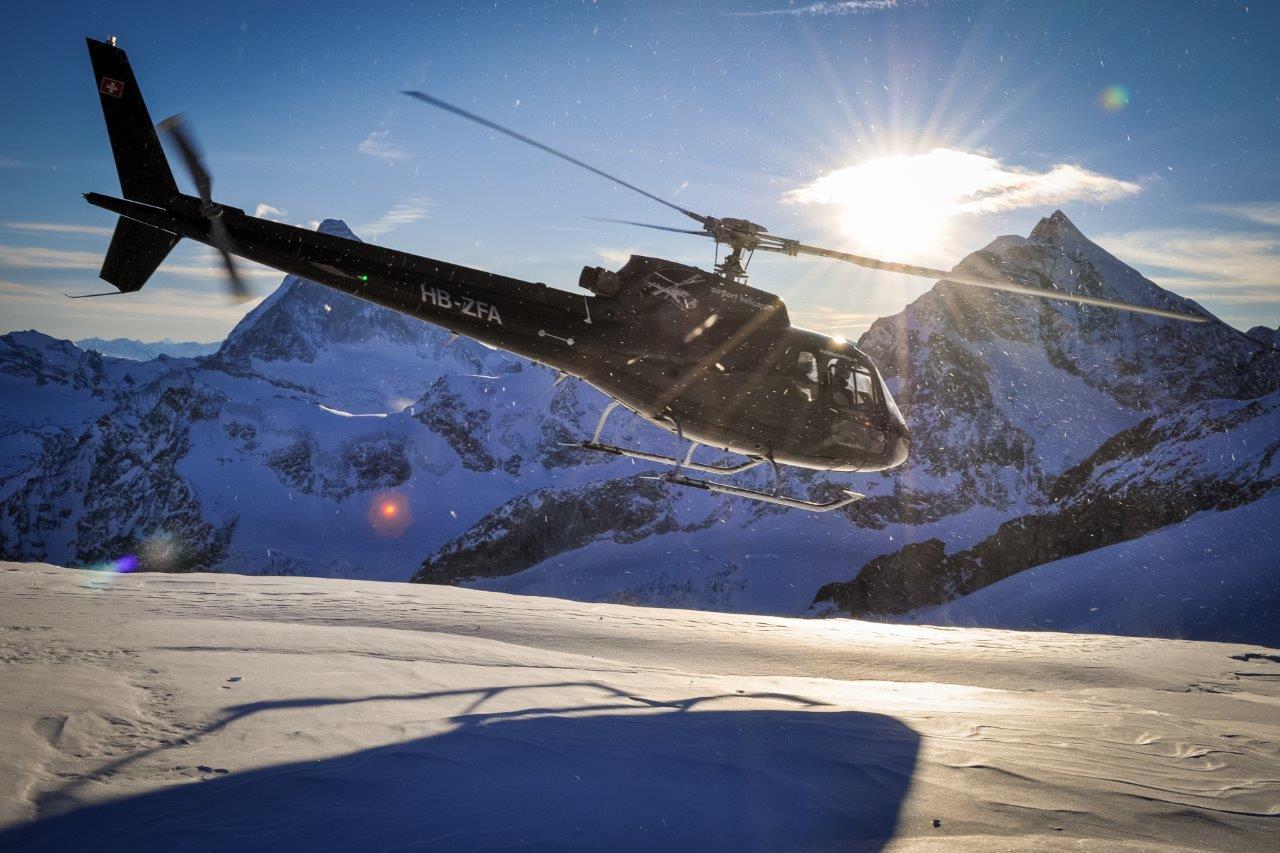 Rundflug Gletscherlandung