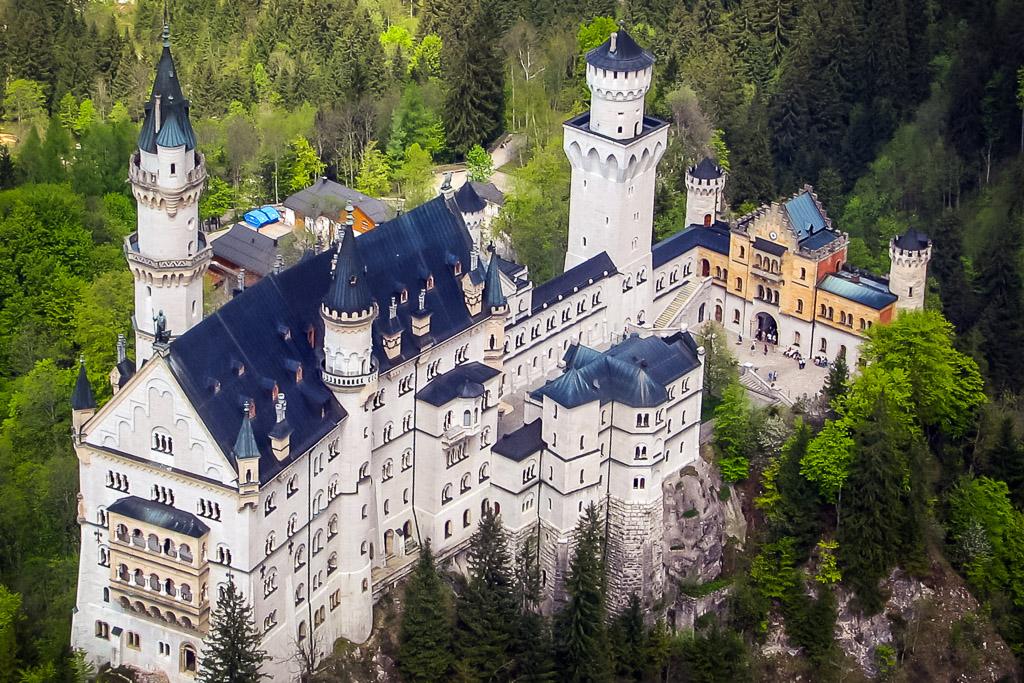 Hubschrauberrundflug Schloss Neuschwanstein