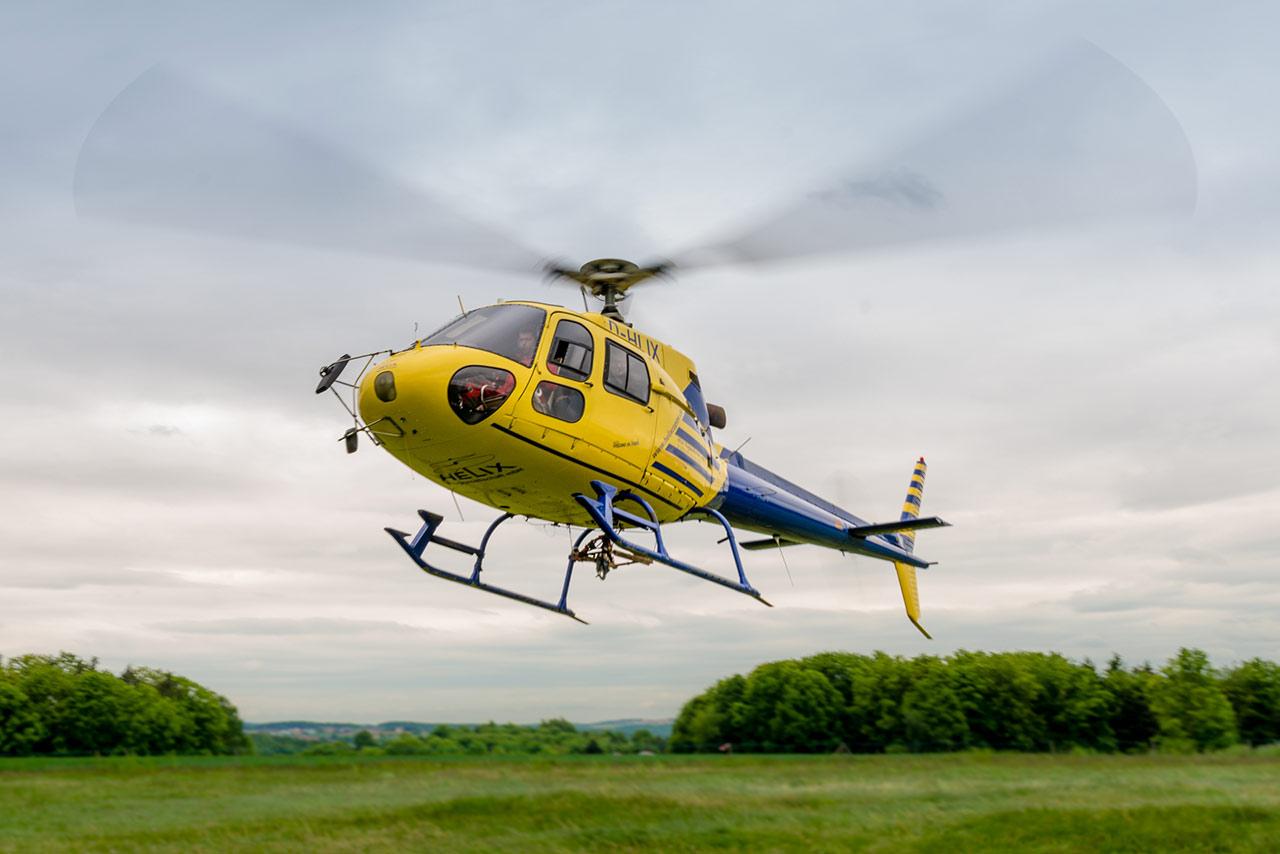 Hubschrauberrundflug ab Passau