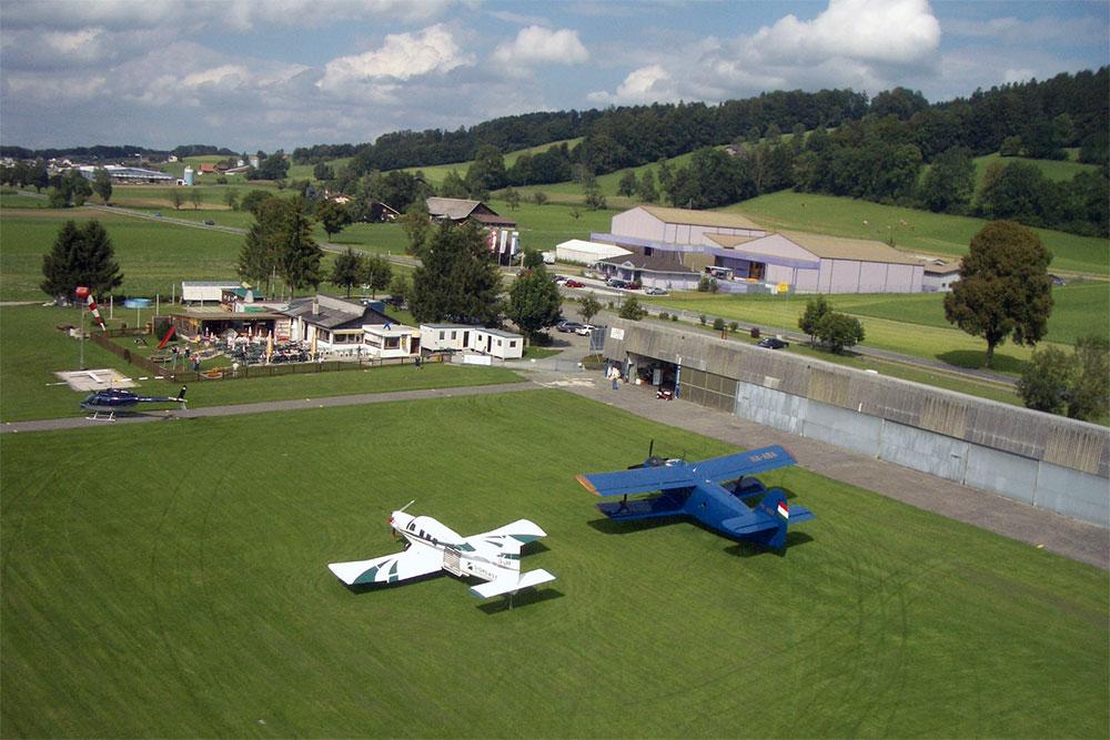 Hubschrauberflug ab Luzern Beromünster