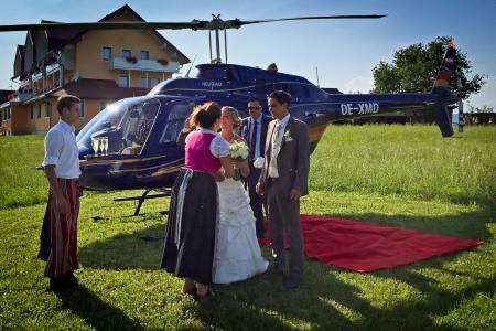 Hochzeitsflug Lienz