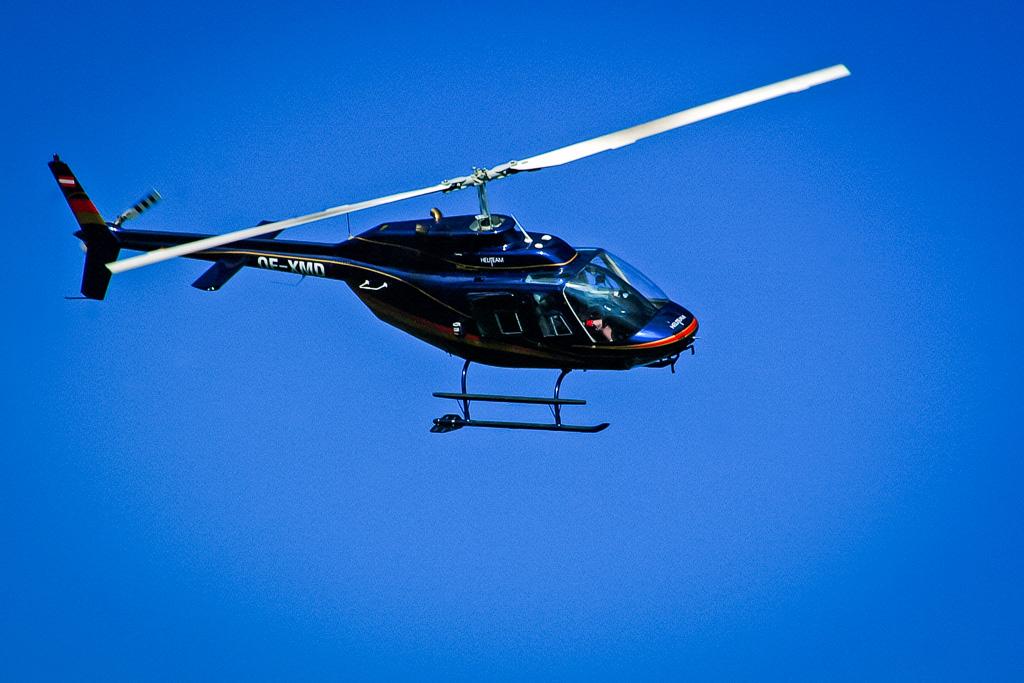 Hubschrauber Lienz Jet Ranger