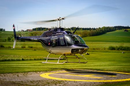 Hubschrauber Jet Ranger