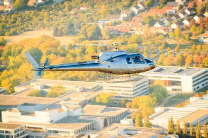 Hubschrauberflug Straubing