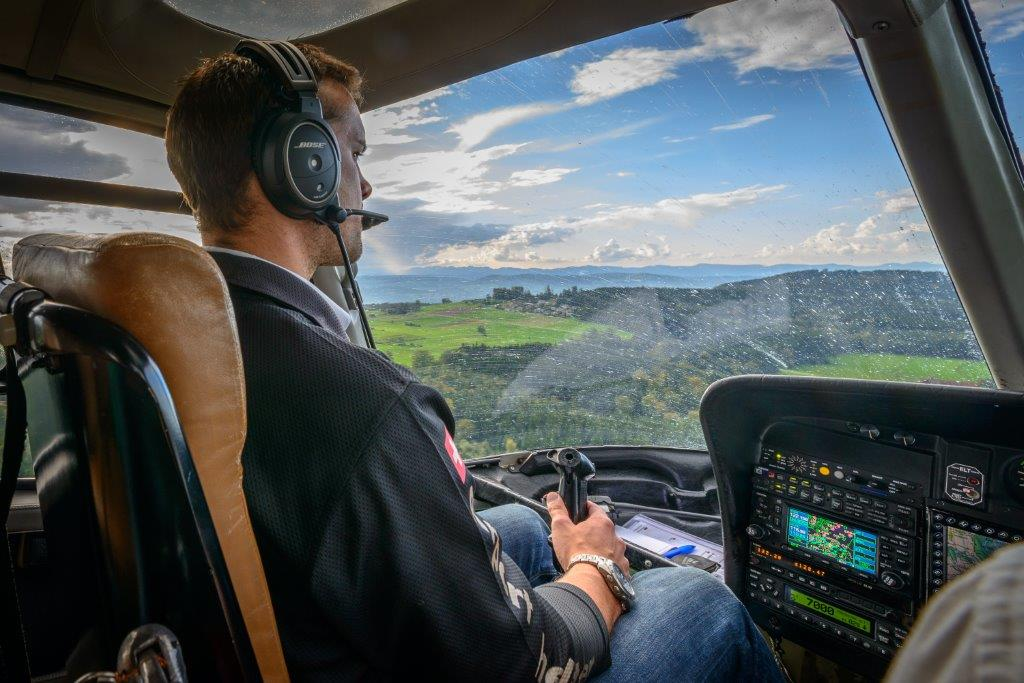 Hubschrauber selber fliegen Bad Vöslau Wien