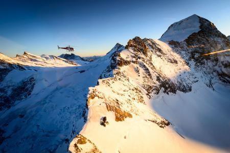 Helikopterrundflug Jungfraujoch