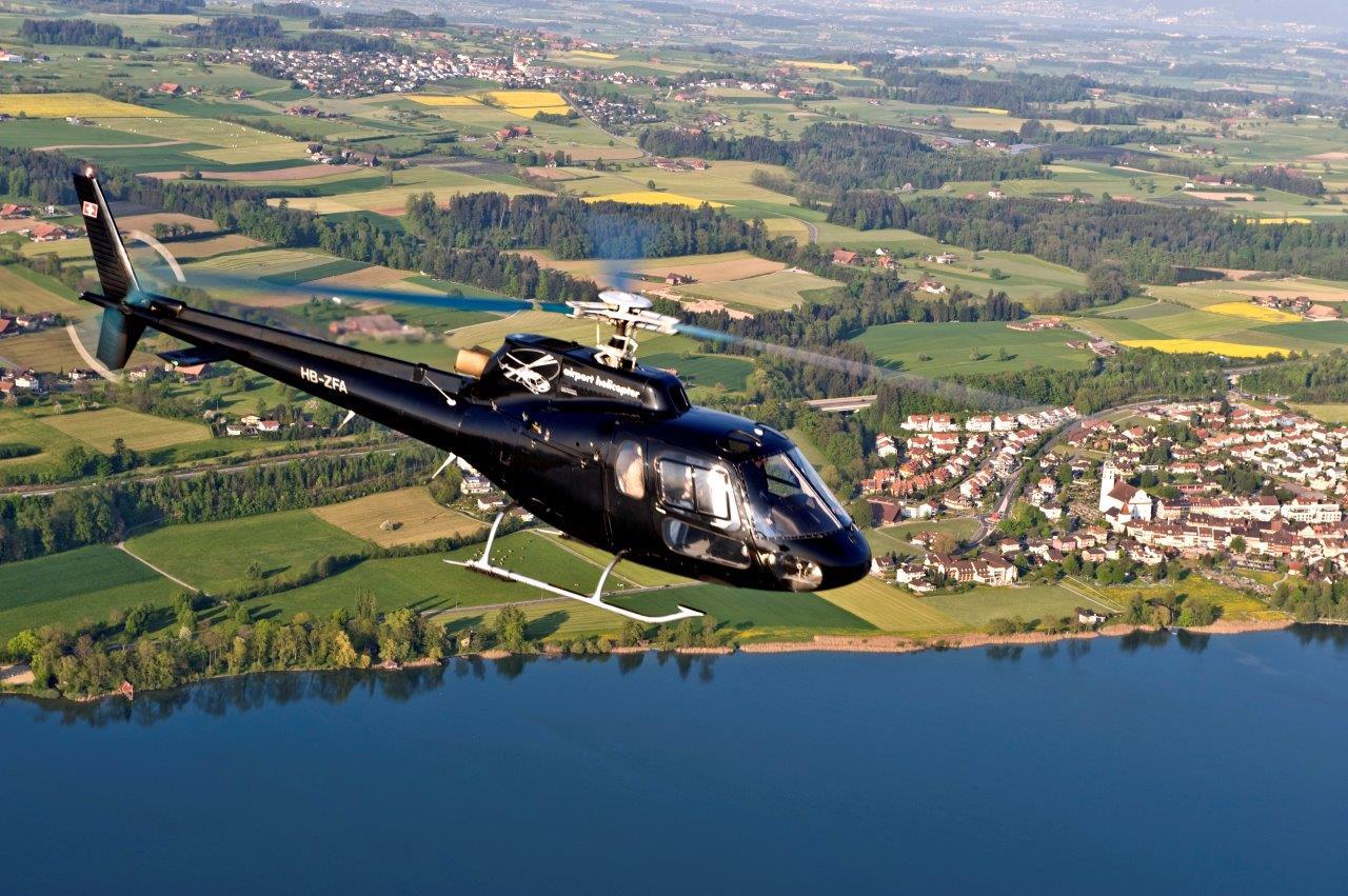Hubschrauberflug Candle Light Flight
