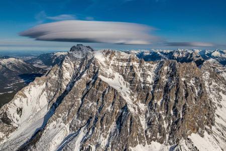 Hubschrauberflug Zugspitze