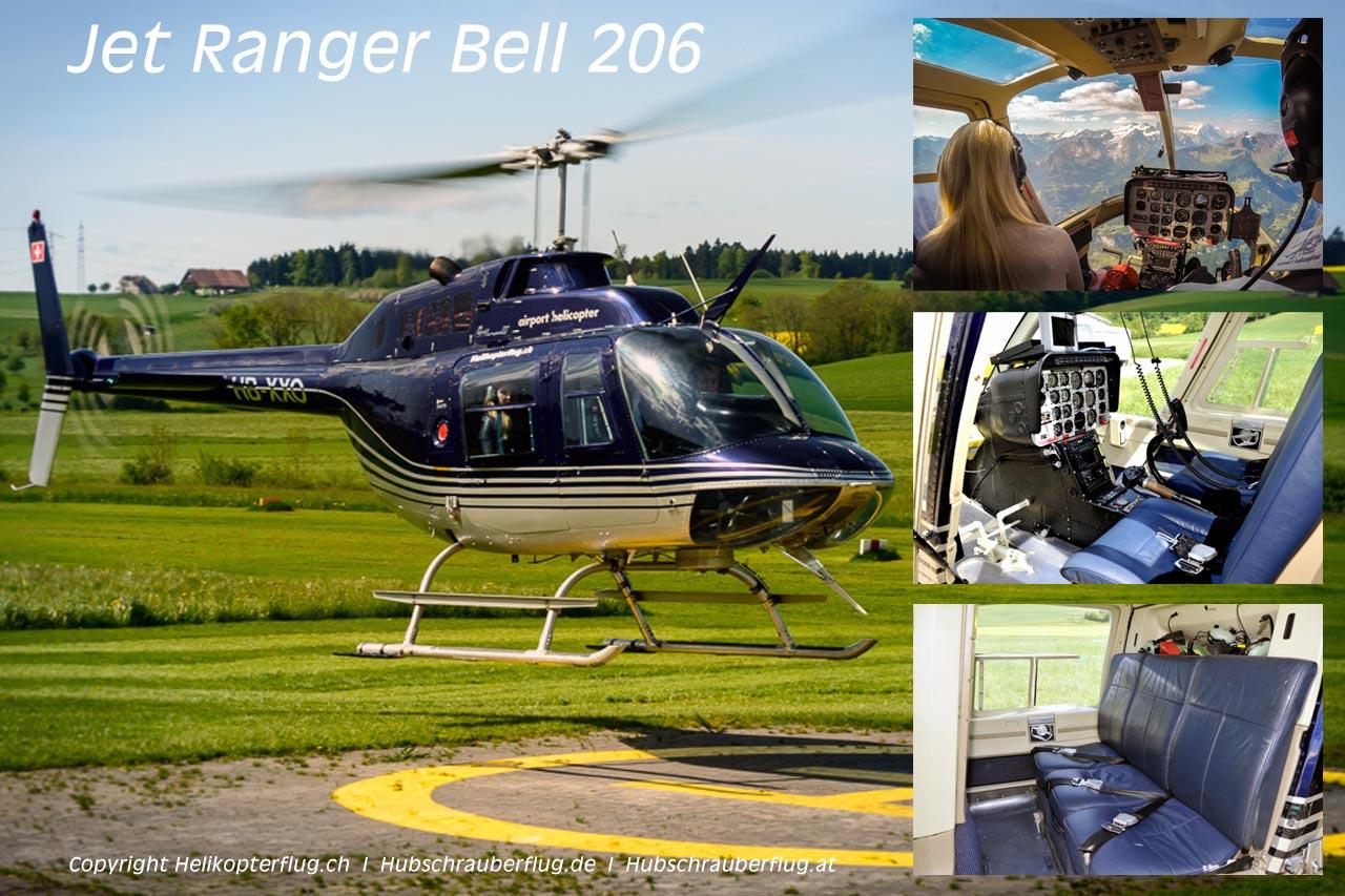 Hubschrauber Jet Ranger Bell 206