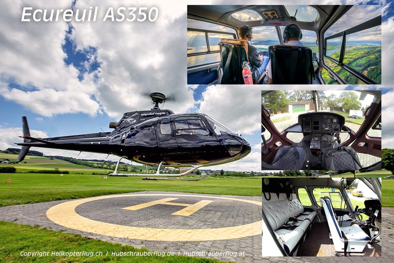 Hubschrauber Ecureuil AS350 / H125