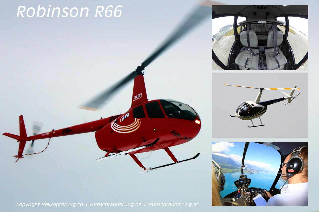 Hubschrauber Robinson R66