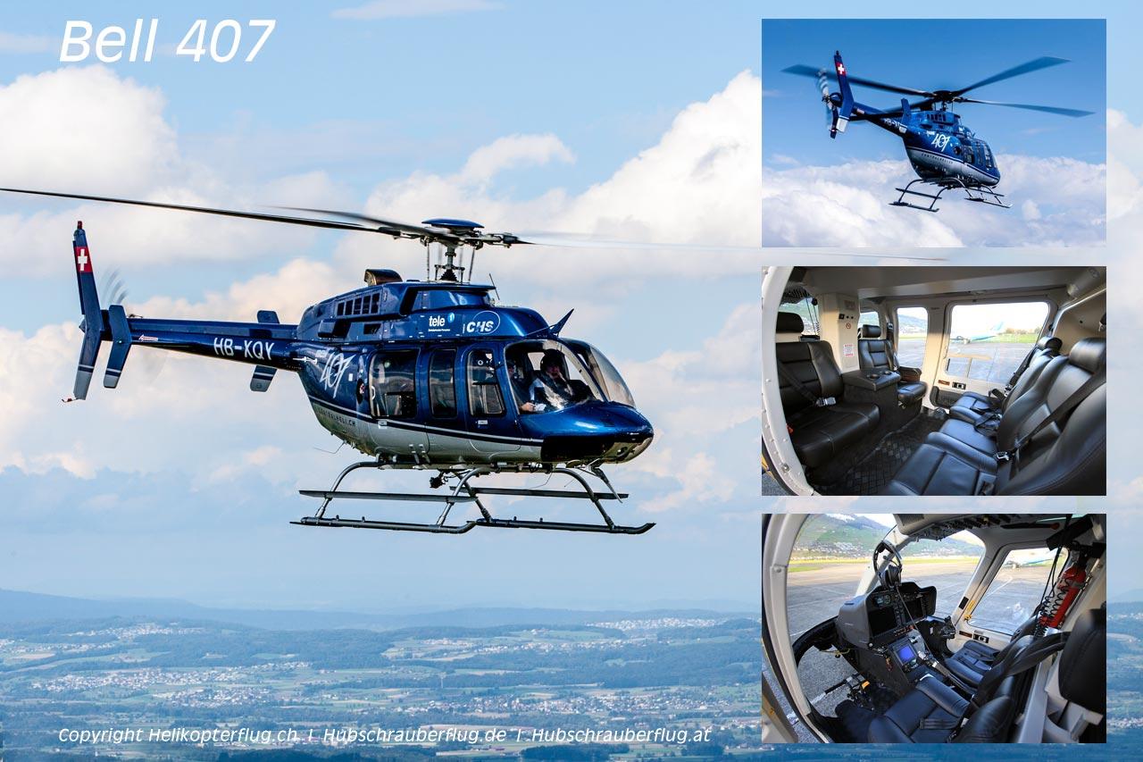 Hubschrauber Bell 407