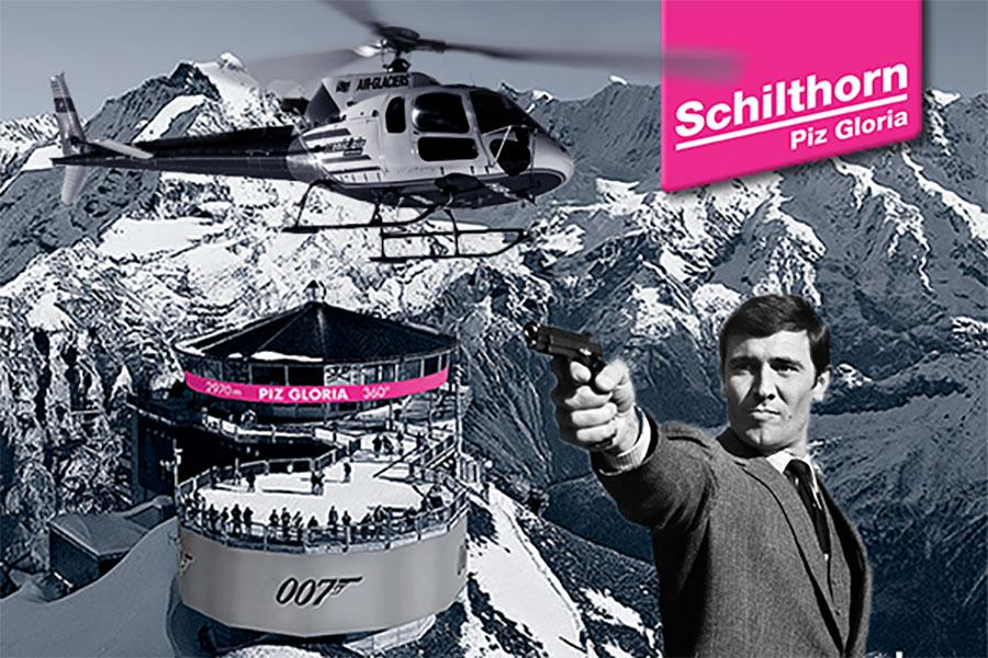 James Bond Rundflug