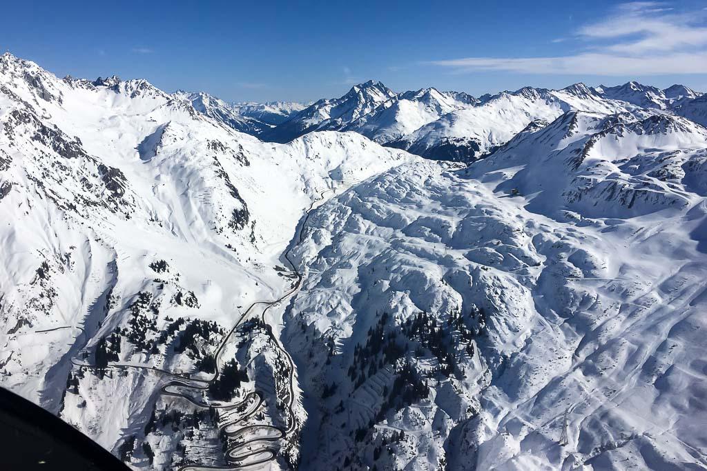 Hubschrauber Arlberg