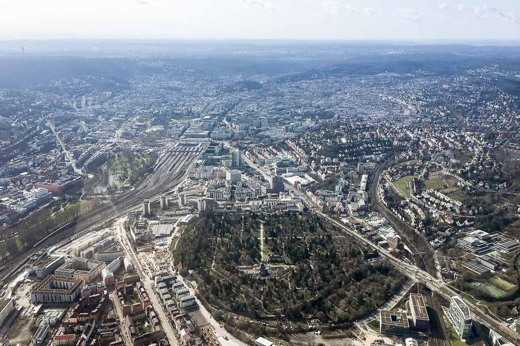 Hubschrauberrundflug Stuttgart